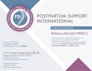 PSI Certificate
