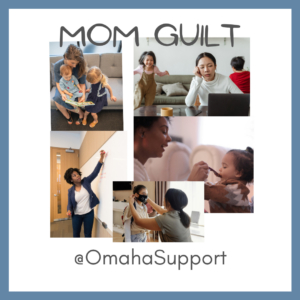 mom guilt working
