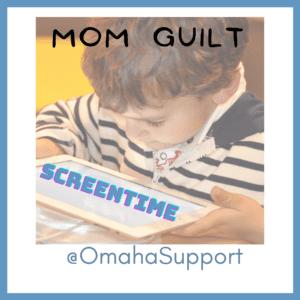 mom guilt kids screen