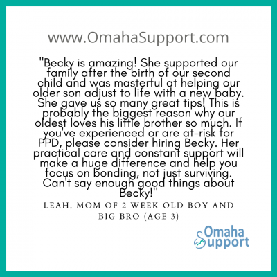 Omaha Doula Client review 1