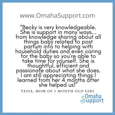 Omaha Doula Client review 3