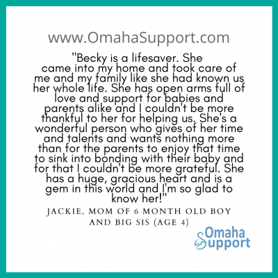 Omaha Doula Client review